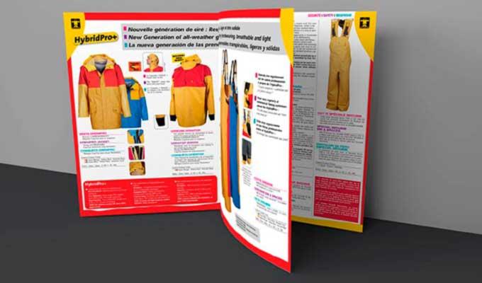 Brochure A5 avec couverture