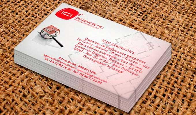Cartes publicitaires 82x128mm