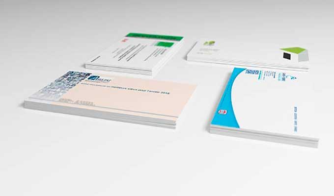 Imprimer carton de correspondance