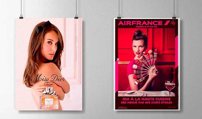 Impression d'affiches à suspendre