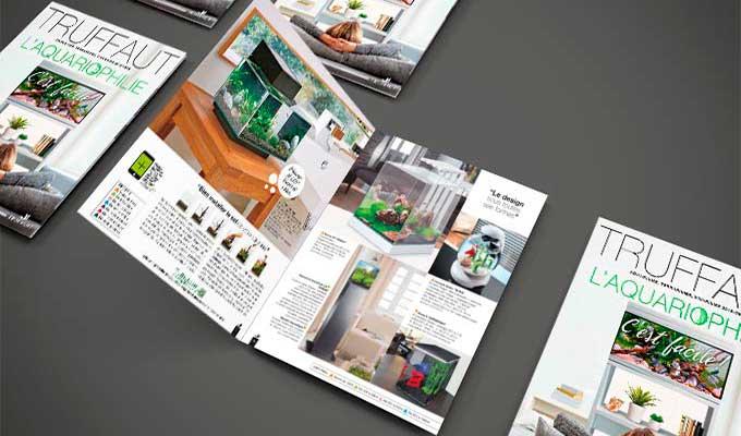 Imprimer des magazines publicitaires papier
