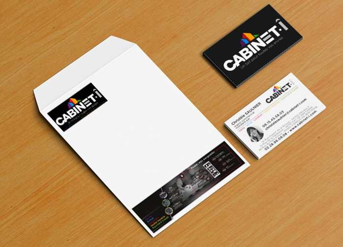 Enveloppes C4 grand format personnalisées pour l'immobilier