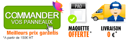 imprimer panneau akilux pas cher, impression de panneau akilux discount, meilleur prix panneau akilux